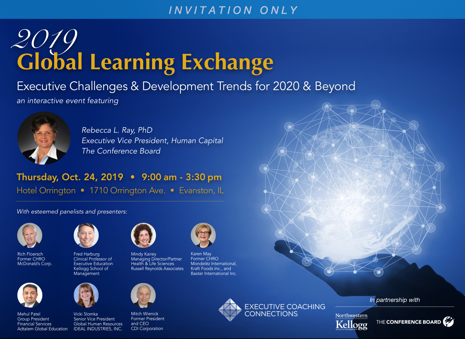 Executive Coaching Connections' 2019 Global Learning Exchange Details